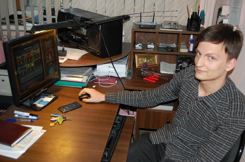 Андрей перед игрой за 3 место