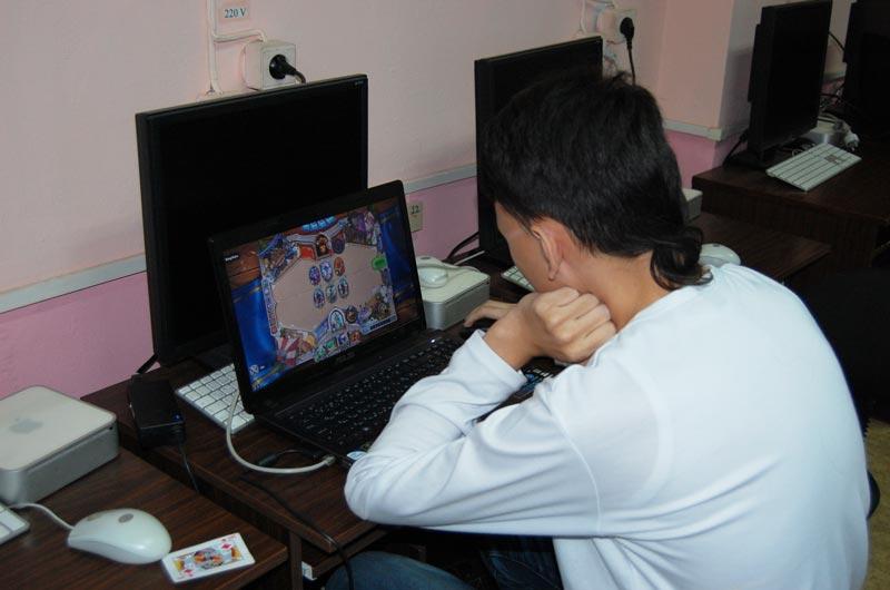 Чэнь Слава в процессе игры