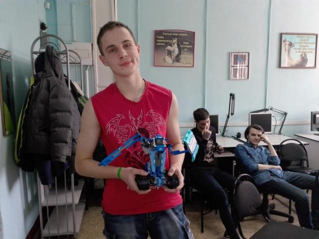 2 место - Котик Даниил