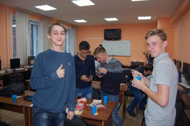 Чаепитие на турнире по ХС