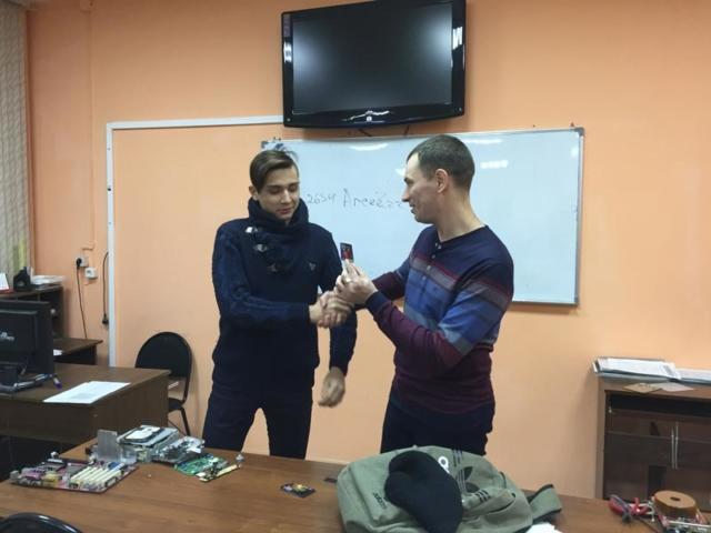 Награждение Кирилла