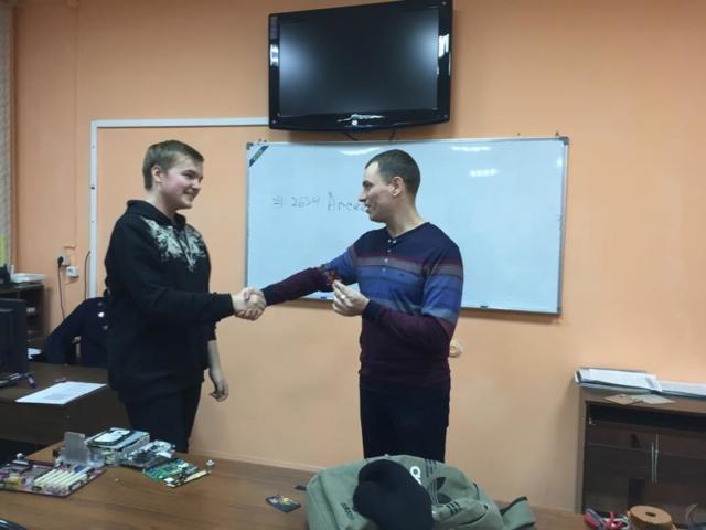 Рахматов Кирилл - 2 место