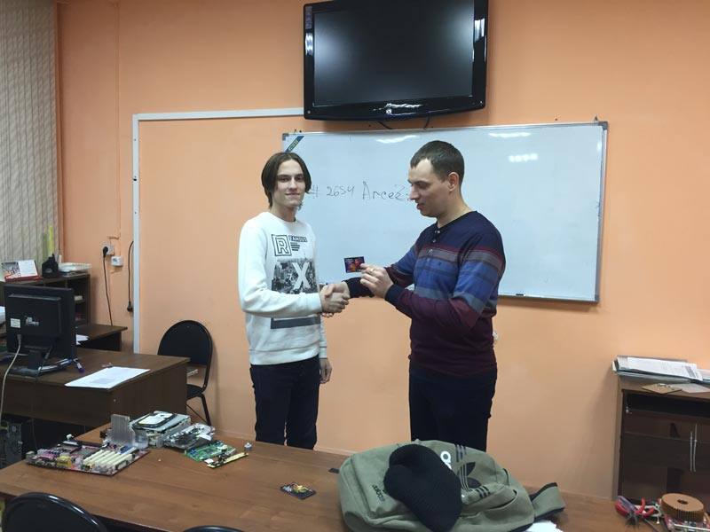 Калугин Роман - победитель