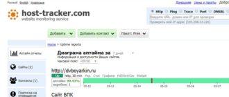 Host-traker.com сервис мониторинга доступности сайта