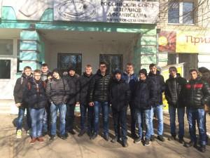 Возле здания Союза ветеранов Афганистана