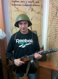 Самойличенко Алексей с ППШ