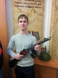 Харитоненко Евгений с ППШ